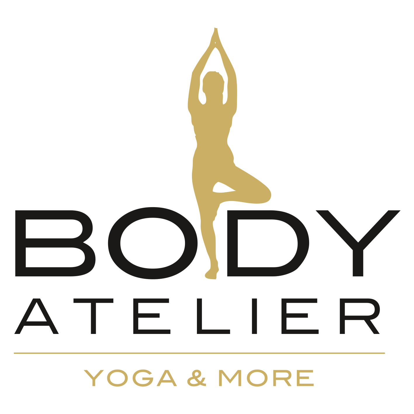 Logo Bodyatelier Yoga and More